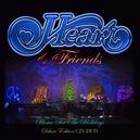 HEART & FRIENDS -CD+DVD- *W/SAMMY HAGAR/SHAWN COLVIN/PAT MONAHAN/RICHARD MARX*
