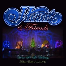HEART & FRIENDS -CD+DVD- *W/SAMMY HAGAR/SHAWN COLVIN/PAT MONAHAN/RICHARD MARX* HEART, CD