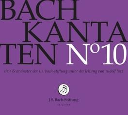 KANTATEN NO.10 CHOR & ORCH.DER J.S. BACH-STIFTUNG J.S. BACH, CD