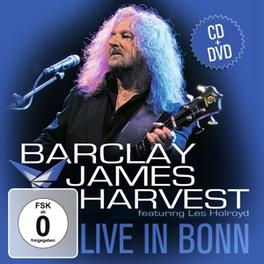 LIVE IN BONN -CD+DVD- BARCLAY JAMES HARVEST, CD