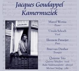 KAMERMUZIEK WORMS/SCHOCH/PAMEIJER JACQUES GOUDAPPEL, CD