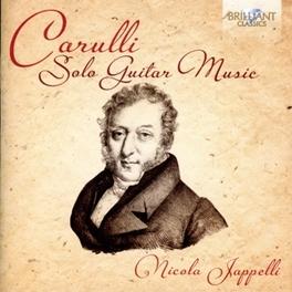 SOLO GUITAR MUSIC NICOLA JAPPELLI F. CARULLI, CD