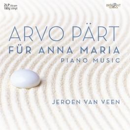 FUR ANNA MARIA JEROEN VAN VEEN A. PART, Vinyl LP