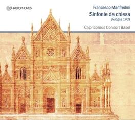 SINFONIE DA CHIESA CAPRICORNUS CONCERT BASEL F. MANFREDINI, CD