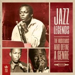 MY KIND OF MUSIC - JAZZ.. .. LEGENDS // THE MUSICIANS WHO DEFINE A GENRE V/A, CD