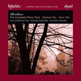 COMPLETE PIANO TRIOS, CLA FLORESTAN TRIO J. BRAHMS, CD