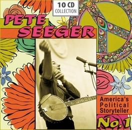 AMERICA'S POLITICAL.. .. STORYTELLER NO.1 PETE SEEGER, CD