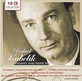 LEGENDARY AND RARE.. .. RECORDING RAFAEL KUBELIK, CD