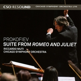 SUITE FROM ROMEO & JULIET CHICAGO SYMPHONY ORCHESTRA/RICCARDO MUTI S. PROKOFIEV, CD