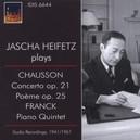 CONCERTO OP.21/PIANO QUIN JASCHA HEIFETZ/MUSICAL ART QUARTET/RCA S.O.