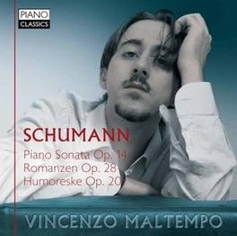PIANO SONATA OP.14 VINCENZO MALTEMPO R. SCHUMANN, CD