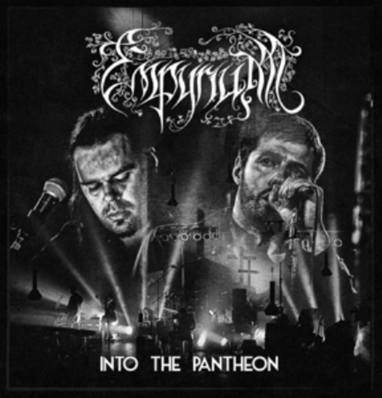 INTO THE PANTHEON -BR+CD- BLURAY/DVD/CD EMPYRIUM, BLURAY