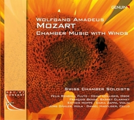 CHAMBER MUSIC WITH WINDS SWISS CHAMBER SOLOISTS W.A. MOZART, CD