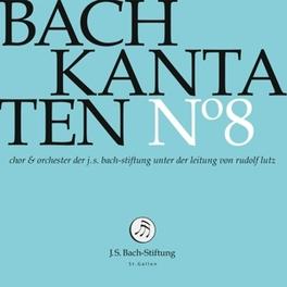 KANTATEN NO.8 CHOR & ORCH.DER J.S. BACH-STIFTUNG J.S. BACH, CD