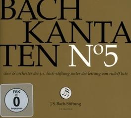 KANTATEN NO.5 CHOR & ORCH.DER J.S. BACH-STIFTUNG J.S. BACH, CD