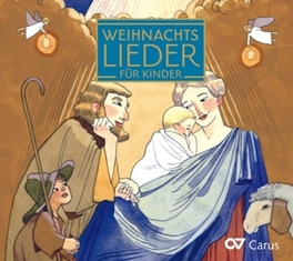 WEIHNACHTLIEDER FUR KINDE KINDERCHOR SINGSALASING, CD