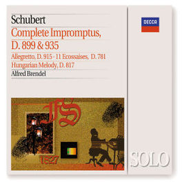 IMPROMPTUS (COMPLETE) -ALFRED BRENDEL Audio CD, F. SCHUBERT, CD