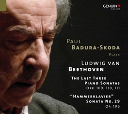 LAST THREE SONATAS PAUL BADURA-SKODA L. VAN BEETHOVEN, CD