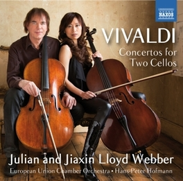 CONCERTOS FOR 2 CELLOS JULIAN LLOYD WEBBER/JIAXIN LLOYD WEBBER A. VIVALDI, CD