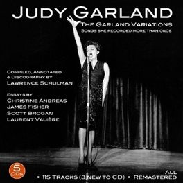 GARLAND VARIATIONS 1937-1962//115 TRACKS INCL. PREV. UNRELEASED JUDY GARLAND, CD