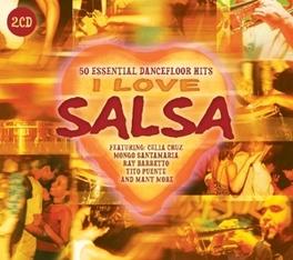 MY KIND OF MUSIC - I.. .. LOVE SALSA V/A, CD