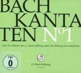 KANTATEN NO.1 CHOR & ORCH.DER J.S.BACH STIFTUNG J.S. BACH, CD