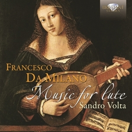 MUSIC FOR FLUTE SANDRO VOLTA F. DA MILANO, CD