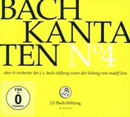 KANTATEN NO.4 CHOR & ORCH.DER J.S. BACH-STIFTUNG J.S. BACH, CD