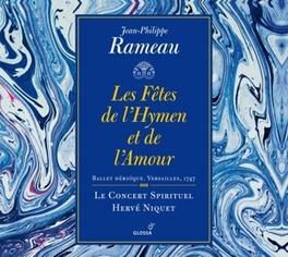 LES FETES DE L'HYMEN ET D LE CONCERT SPIRITUEL/HERVE NIQUET J.P. RAMEAU, CD