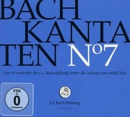 KANTATEN NO.7 CHOR & ORCH.DER J.S. BACH-STIFTUNG J.S. BACH, CD