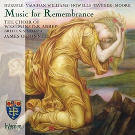 MUSIC FOR REMEMBRANCE BRITTEN SINFONIA WESTMINSTER ABBEY CHOIR, CD