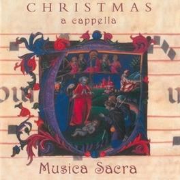 CHRISTMAS A CAPPELLA INDRA/MUSICA SACR HUGHES, CD