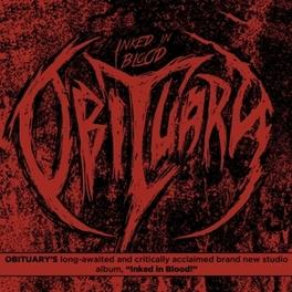 INKED IN BLOOD DEATH METAL VETERANS !!! BRUTAL ! OBITUARY, CD