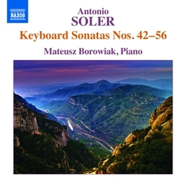 KEYBOARD SONATAS NO 42-56 M.BOROWIAK A. SOLER, CD