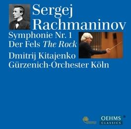 SINFONIE NO.1 GURZENICH ORCHESTRA OF COLOGNE S. RACHMANINOV, CD