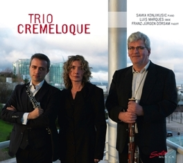 WORKS FOR PIANO, OBOE.. .. AND FAGOT/TRIO CREMELOQUE LALLIET/RAVEL, CD