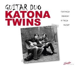GUITAR DUO KATONA TWINS A. PIAZZOLLA, CD