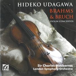 VIOLIN CONCERTOS UDAGAWA BRAHMS/BRUCH, CD