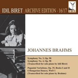 SYMPHONIES NO.3/4 I.BIRET J. BRAHMS, CD