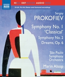 SYMPHONIES NO.1 & 2 SAO PAOLO S.O. / BLURAY AUDIO S. PROKOFIEV, Blu-Ray