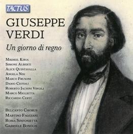 UN GIORNO DI REGNO BELCANTO CHORUS G. VERDI, CD