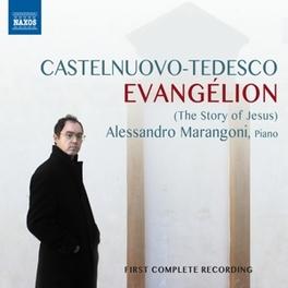 EVANGELION - STORY OF.. .. JESUS//A.MARANGIONI CASTELNUOVO-TEDESCO, M., CD