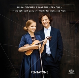 COMPLETE WORKS FOR.. .. VIOLIN & PIANO//FISCHER/HELMCHEN F. SCHUBERT, CD