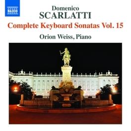 COMPLETE KEYBOARD SONATAS ORION WEISS SCARLATTI, CD