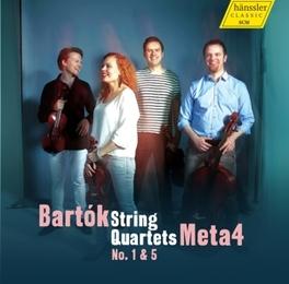 STREICHQUARTETTE 1 META4 B. BARTOK, CD