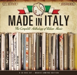 MADE IN ITALY THE COMPLETE ANTHOLOGY OF ITALIAN MUSIC V/A, CD