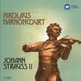 JOHAN STRAUSS II NIKOLAUS HARNONCOURT/CONCERTGEBOUW ORCHESTRA AMSTERDAM STRAUSS, J. -JR.-, CD