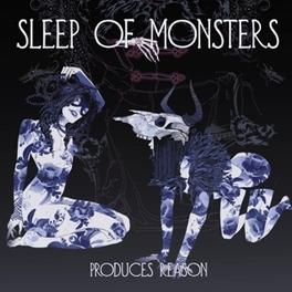PRODUCES REASON -LTD- GATEFOLD + MP3 DOWNLOAD *BLUE VINYL LTD TO 200* SLEEP OF MONSTERS, Vinyl LP