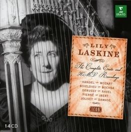 COMPLETE ERATO AND HMV RE LILY LASKINE, CD