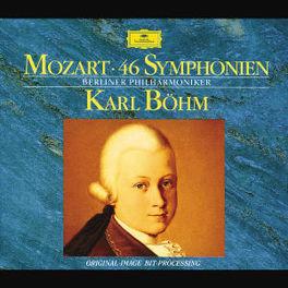 46 SYMPHONIES *BOX* W/BERLINER PHILHARMONIKER, KARL BOHM Audio CD, W.A. MOZART, CD